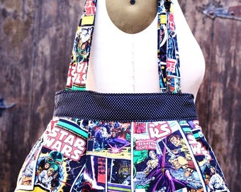 Star Wars Pleated Handbag, Star Wars Purse, Star Wars Bag