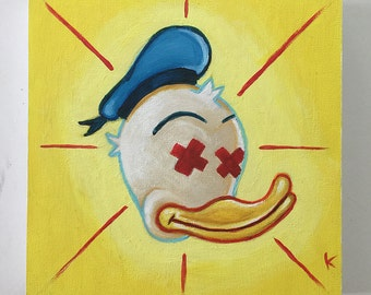 dead.duck - Original Art by Kevin Kosmicki