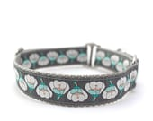 """1"""" Dog Collar Camille buckle or martingale collar"""