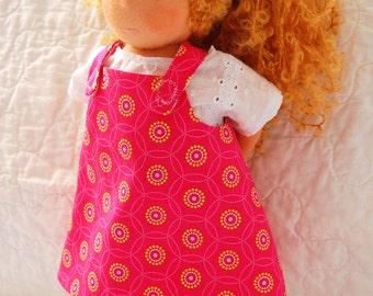 Waldorf Inspired Natural Doll, 13 inch, Nala