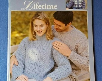 Sweaters for a Lifetime designs to knit - Leisure Arts knitting pattern booklet