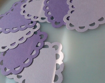Paper Scalloped Hearts
