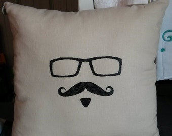 Johnny Depp John Paul White Decorative Pillow