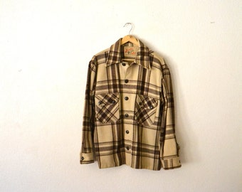 1940s-50s Wool Flannel Jacket/Coat