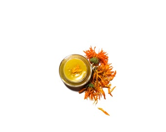 Calendula Balm . all purpose moisturizing vegan salve