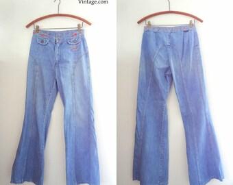 1970s Vintage Wrangler Jeans Size XS