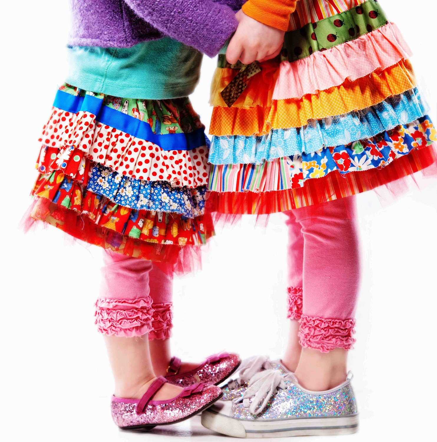 Ruffle Joy Skirt Pattern PDF Download by HandmadeALaCarte ... Ruffle Designs