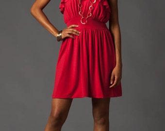 Red Dress, Off shoulder, Party Dress
