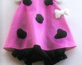 Baby and Toddler Pink Pebbles Flintstone Toddler Costume 3 Piece Set