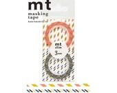 mt slim 3mm B, Japanese Washi Paper Masking Tape, Adhesive Deco Tape, Journal Washi, Cute Planner Washi, Kawaii Card Decoration, MTSLIMS02