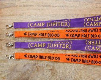 GEEKY CAMP fandom lanyard! Whose side are you on??
