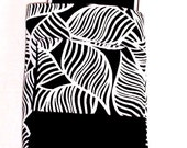 Tablet Case - Samsung Tablet Sleeve - Galaxy Tablet Cover- Electronic Device Case - Black White Design Tablet Case