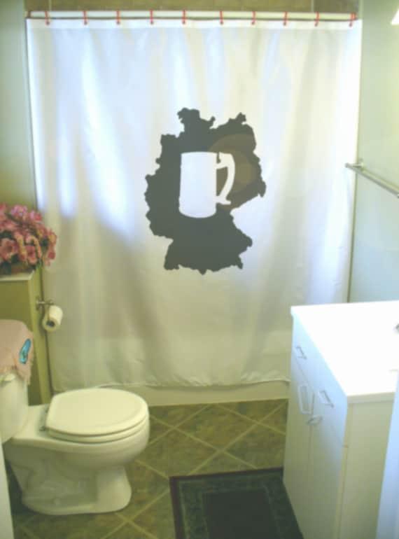 items similar to germany stein shower curtain german deutsch map beer glass oktober fest. Black Bedroom Furniture Sets. Home Design Ideas