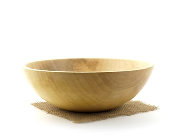 Wooden Maple Bowl / Wooden Serving Dish
