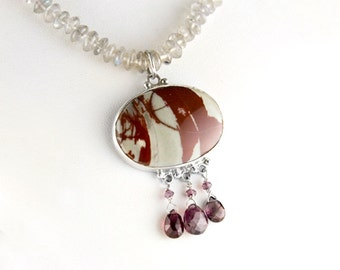 The Rush Kingdom One of a Kind Jasper Necklace