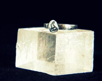 Sterling Silver Rabbit Ring