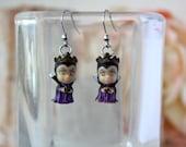 Evil Queen Stainless steel earrings
