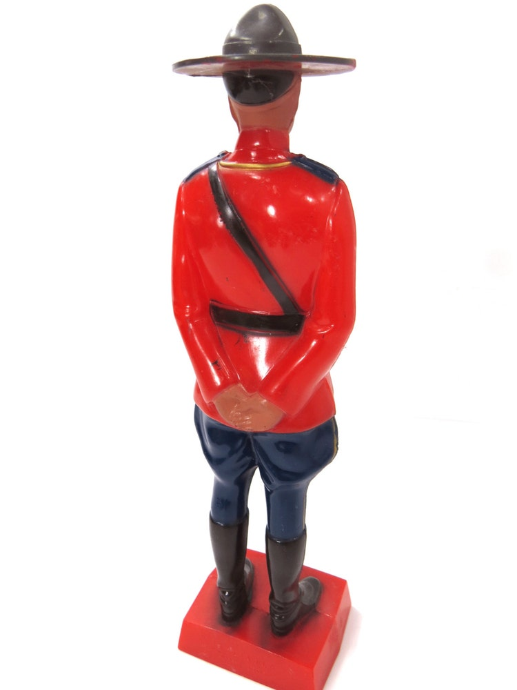 canadian mountie figurine reliable toy co  by