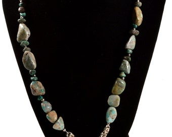 Turquoise Fish Necklace