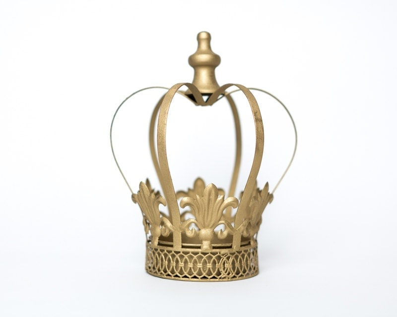 Gold Crown Centerpiece Gold Crown Large Wedding By
