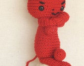 Crochet Amigurumi Devil Red