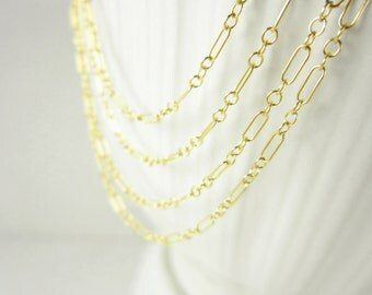 LONG & SHORT - 20 Inch Necklace Chain - 14k Gold Chain Necklace - Thin Chain - Everyday Necklace Ready to Wear Jewelry - Dainty Jewelry