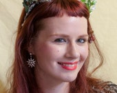 Woodland Winter Faun Tiara