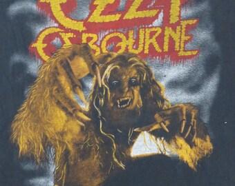 OZZY OSBOURNE 1984 Europe tour  T SHIRT