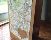 I love Verona Italy - 1 blank handmade greeting card