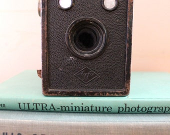 Say Cheese.. Vintage B-2 Cadet Box Camera, Vintage Camera