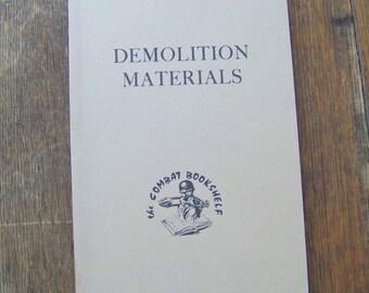 Vintage Army Manual Demolition Materials Field Manual Survival Manual US Army Manual 1955 Gift for Dad