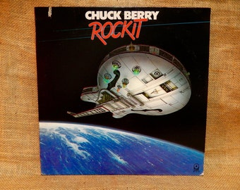 BACK TO SCHOOL...Chuck Berry - Rock It - 1979 Vintage Vinyl Record Album