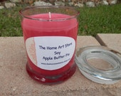 12 oz Soy Apple Butter Pie Container Candle