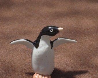 Little Penguin made of porcelain