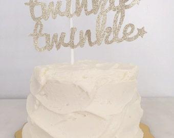 Twinkle Twinkle Little Star // Baby Shower // Birthday // Cake Topper