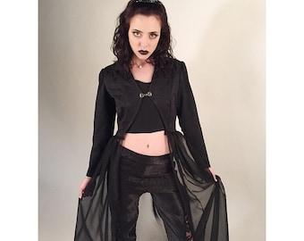 Gothique - Simple Black Filigree Gothic Tiara Gothic Crown Evil Queen Crown Evil Queen Tiara- Ready to Ship
