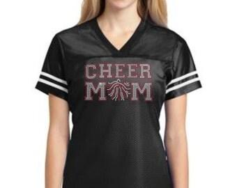 Rhinestone Cheer Mom jersey