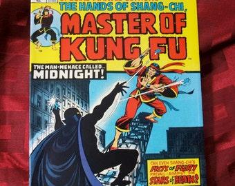 Special Marvel Edition Master Of Kung Fu The Hands Of Shang-Chi no 16 1973 Midnight Brings Dark Death Martial Arts Adventure Fantasy Comics