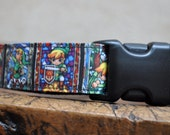 Dog Collar - Link, The Legend of Zelda  -  50% Profits to Dog Rescue