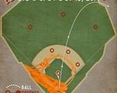 "Giants baseball print ""ISHIKAWALKOFF"" Travis Ishikawa walkoff homerun diagram infographic poster"
