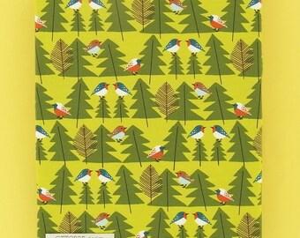 WALLBIRD printed cotton single jersey