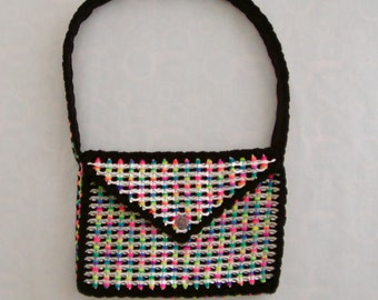 Rainbow Pop Tab Shoulder Bag