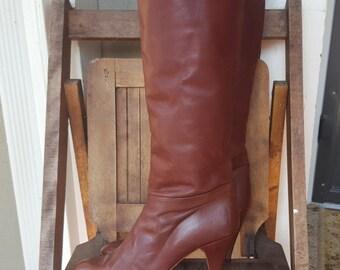 NINA    ///    Tall Heeled Boots