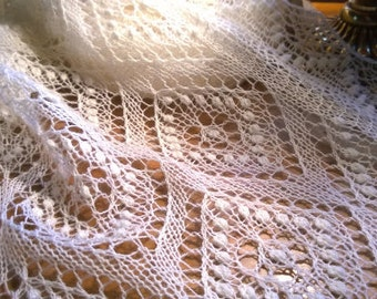 MADE TO ORDER Estonian lace shawl
