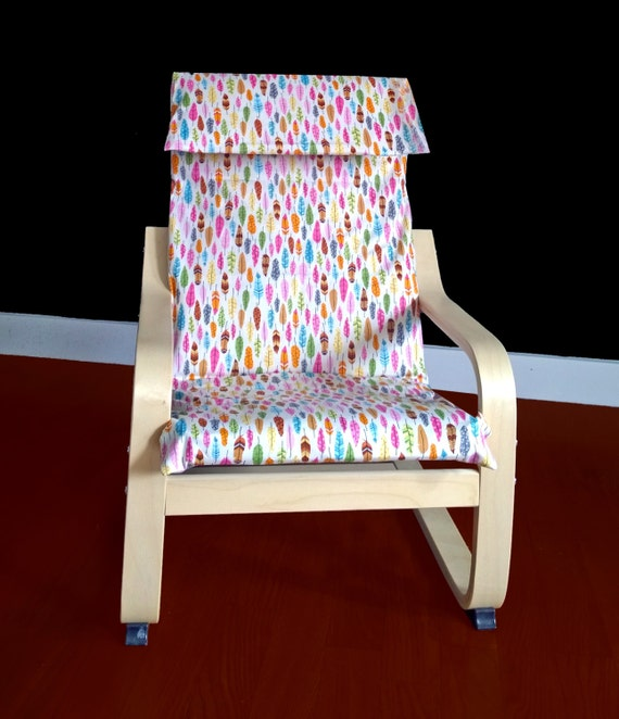 Ikea Poang Chair Cover Etsy ~ IKEA KIDS POÄNg Cushion Slipcover  Timeless Treasures Under the