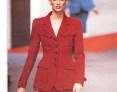 Karl Lagerfeld skirt suit pattern -- Vogue Paris Original 1719