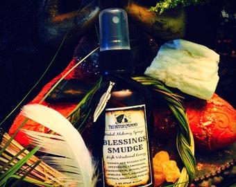 BLESSINGS SMUDGE SPRAY - Herbal Alchemy Spray