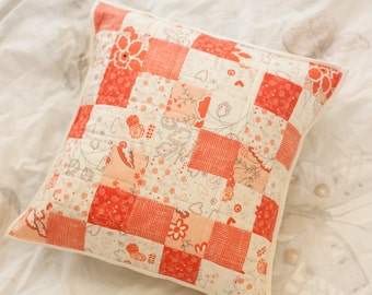 Quilted Pillow - Table For Two