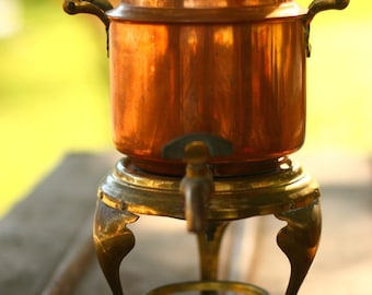 COFFEE POT, COPPER coffee pot, antique, tea pot, Drinks, Party, Metal, Brass, Brass is Back, Wedding, Shower