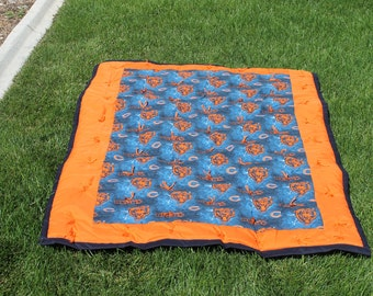 NFL Chicago Bears Baby Quilt